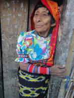Kuna Woman. San Blas Islands, Panama