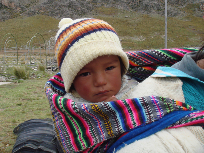 Maca Country Baby On Back Medicine Hunter