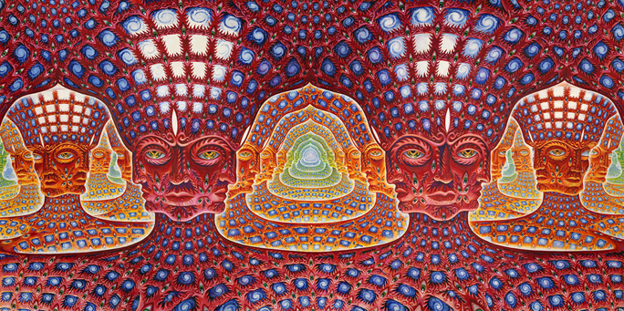 Psychedelic Spirit Paintings Alex Grey Art Gallery: Ken Jordan On Reality Sandwich 2.0 And Conscious Community
