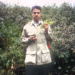 Medicine Hunter Chris Kilham, with Rhodiola, in Siberia